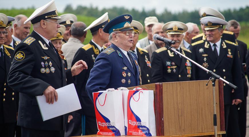 Лётчик ветеран Великой Отечественной войны Переверзев Иван Митрофанович