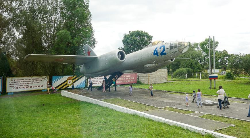 Ил-28 в Черняховске