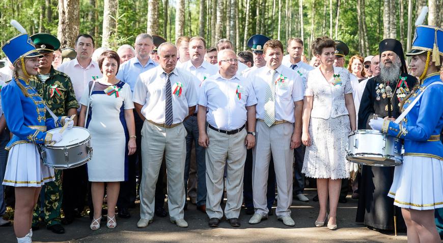 Председатель облисполкома Витебской области Шерстнёв Николай Николаевич с делегацией