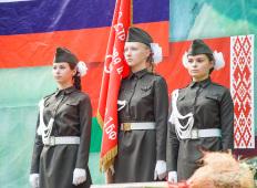 Курган Дружбы 2016: Партизанский костёр