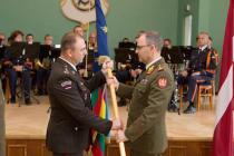 Смена коменданта Балтийского колледжа обороны