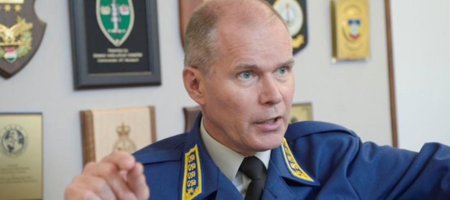 Встреча командующих в Дании