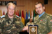 В рамках двустороннего военного сотрудничества