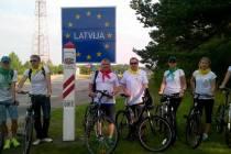 Велопробег «Паланга-Лиепая»