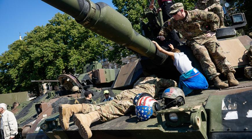 Американский танк ABRAMS
