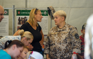 Латвийскому Земессардзе 25 лет