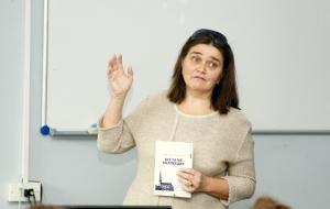 Встреча с писательницей Светланой Данилиной