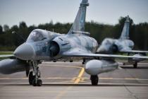 Франция и Германия — патруль в небе Балтии