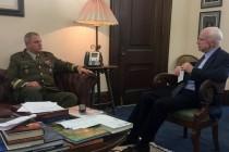 Визит командующего Сил обороны Эстонии в США