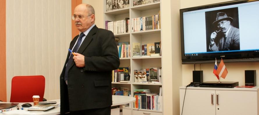 Осенние литературные встречи в Риге