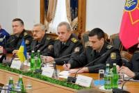 Встреча начальника Генштаба с советниками