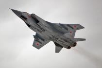 МиГ-31БМ выполнили учебные пуски ракет