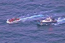 Снова поиск и спасение в Средиземном море