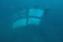 Смена флага на HMS Royal Oak