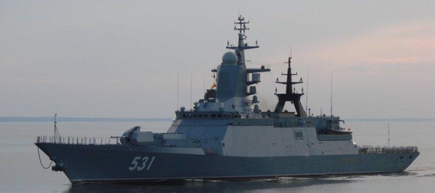 Стрельба зенитными ракетами по кораблям