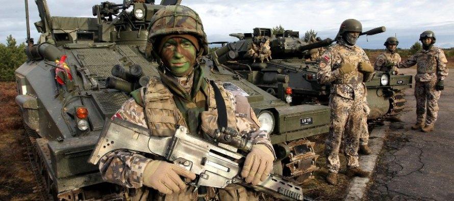 Выступления министра обороны Латвии Бергманиса