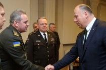 Встреча с командующим ВС Украины