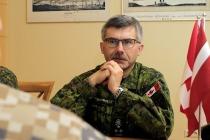 Встреча с командующим сухопутными силами Канады