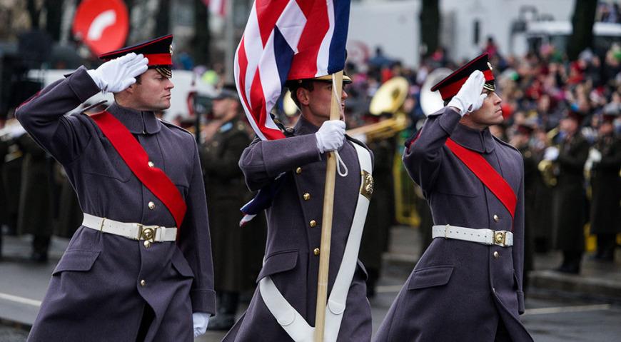 Знамённая группа армии Великобритании