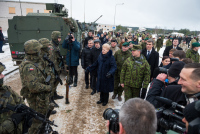 Посещение учений «Iron Sword» в Литве