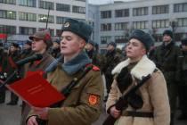 Военная присяга СЗОК в Борисове