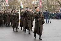 Посещение Штабного батальона НВС Латвии