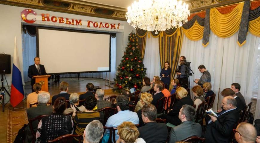 Завершающая пресс-конференция Александра Вешнякова