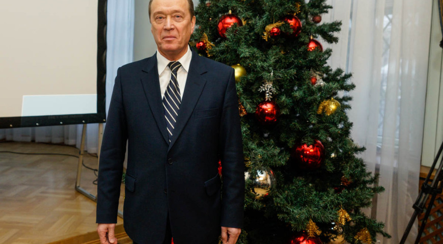 Александр Альбертович Вешняков покинет свой пост 30 декабря 2016 года