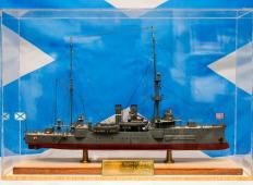 Модель канонерской лодки Сивуч