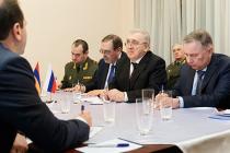 Встреча с министром обороны Армении