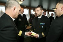Смена командира эскадры BALTRON — 2017