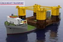 Самое большое в мире судно построено в Китае
