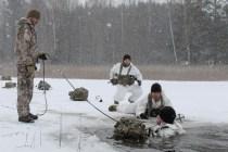 Генерал-лейтенант Граубе посетил учения «Зима»