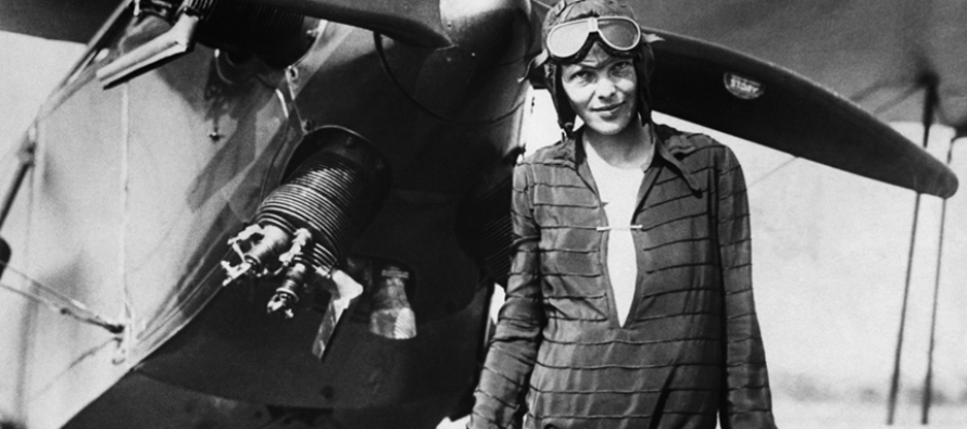 amelia earhart a woman with a Why amelia earhart still matters in 1920, a kansas woman took her first flight—and soon changed the world.