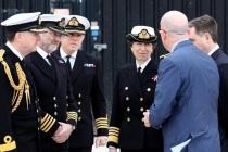 Принцесса Анна посетила ВМБ в Портсмуте