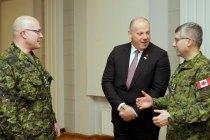 Роль канадских войск в Латвии