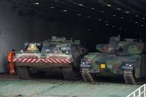 В Литву прибыла голландская военная техника
