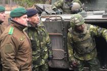 Визит генерала Рихо Терраса в Швецию