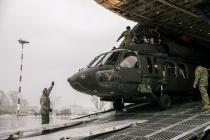 В Латвию доставлены вертолёты «Black Hawk»