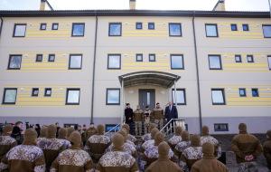Новая казарма в Лиелварде