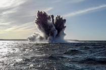 Три авиабомбы найдены в море у Сааремаа