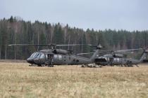 Учения вооружённых сил «Gaisa Vanagi»