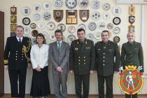 В рамках международного военного сотрудничества