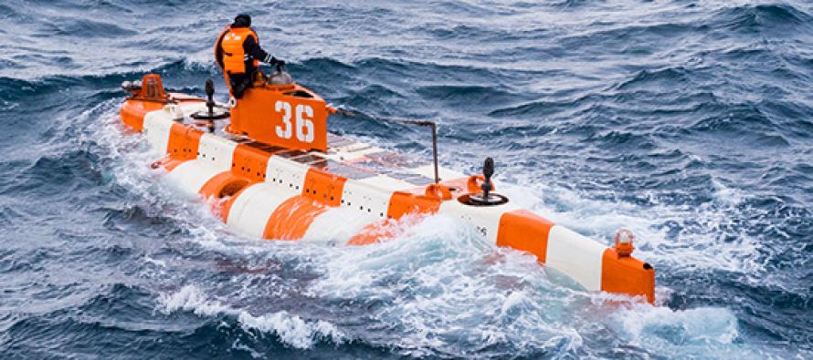 Учения поисково-спасательных служб флота