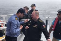 Спасение моряков с СРЗК «Лиман»