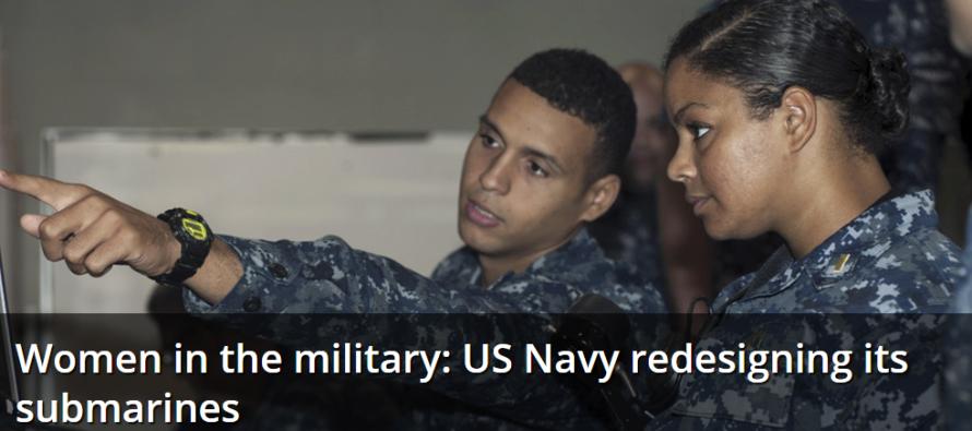 Женщины на подводных лодках