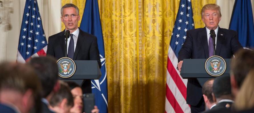 Встреча Генсека НАТО и президента США