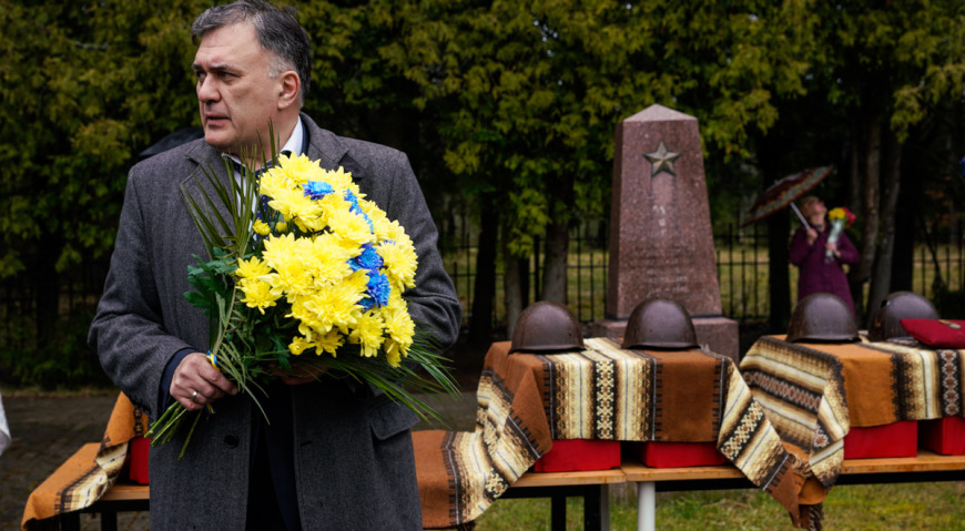 Советник посольства Украины в Латвии Олег Горбенко