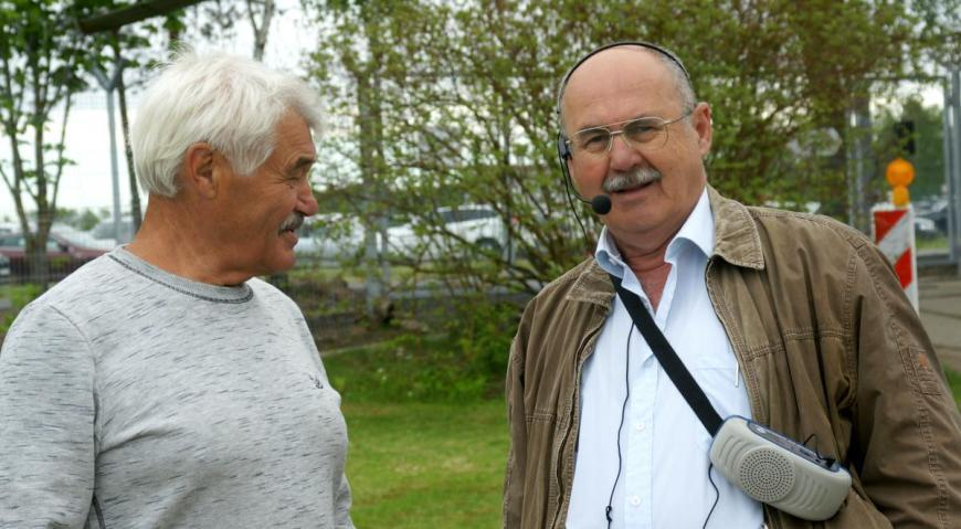 Виктор Талпа (слева)
