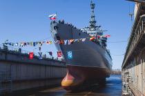 Разведывательное судно «Иван Хурс» на воде